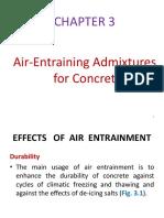 Air-Entraining Admixtures for Concrete 11