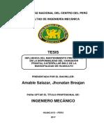 INFLUENCIA DEL MANTENIMIENTO PREVENTIVO EN LA DISPONIBILIDAD DEL CARGADOR FRONTAL  CATERPILLAR 96.pdf