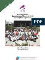 Capitalizacion Del Genro en SDC (Resultados Taller 2003)