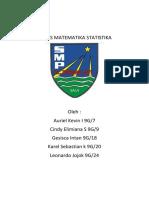 TUGAS MATEMATIKA STATISTIKA
