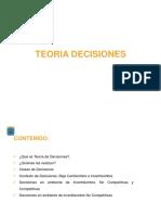 Teoria de Decisiones (1)