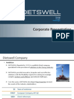 Dietswell Corporate Presentation q3 2016 v6