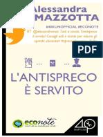 Alessandra Mazzotta – L'Antispreco è Servito (2014)