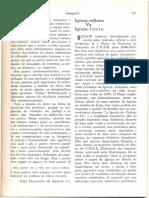 VAZ H. C. de Lima. Igreja-reflexo vs Igreja-fonte - 1968