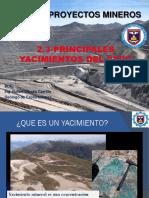 Principales Yacimientos Del Perú