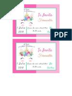 Invitacion Fernandita