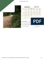 Calendário Para Imprimir _ Webcid