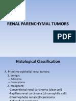Renal Parenchymal Tumors