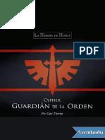 Cypher_ Guardian de La Orden - Gav Thorpe