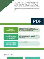 1204 Fideicomiso, Comisiones de Confianza y Otras