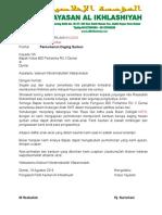 1. Proposal Permohonan Daging Qurban
