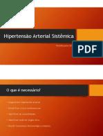 Revisão sobre Hipertensão Arterial Sistêmica