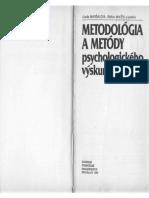 Mikšík Maršálová Metodológia a metódy psychologického výskumu - kniha.pdf