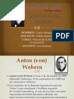 Anton Von Webern - Carlos Robles