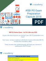 #SBI PO Exam Preparation Capsule 2018