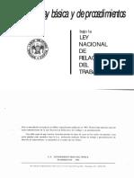 LA GUÍA BÁSICA DE LA NLRB SOBRE LA LEY NACIONAL DE RELACIONES LABORALES