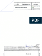 New PDE PPM G00 BD 0016 000.02 Shipping Instructions