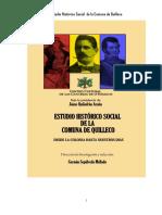 Estudio Histórico Social de La Comuna de Quilleco