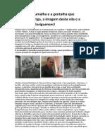 Adelino Pina Fariseu Alemão a Escumalha e Gentalha Que Prejudica Loriga