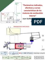 Parámetros Indicados, Efectivos y Curvas Características de Los Motores de Combustión Interna