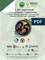 25th Philippine Biodiversity Symposium Program Book