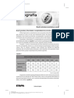 Brasil - Estrutura Econômica e Social