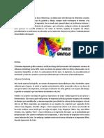 Artes Gráficas. Diseño Grafico y Serigrafia