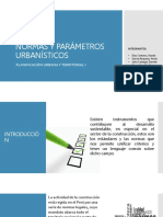 Plantilla Parametros Urbanos