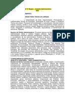 TRF 5ª Região - Analista Administrativo
