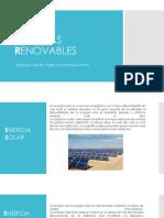 Paneles Solares Tecnologia III