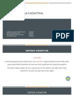 sistem informasi kadastral lengkap