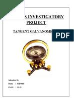 Physics Investigatory Project Class 12 Tpdf