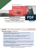 CSEconference Sobre Lectoescritura - PhD (Torrijos, 2018)