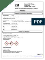 Bromo - A-1545 (Cuidados Em Caso de Intoxicação)