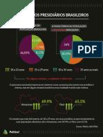Infográficos População Carcerária No Brasil