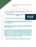 Droit Le Préjudice de La Rupture Fautive Des Pourparlers