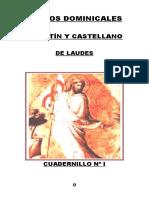 Nº 1. Himnos Dominicales. Laudes en l. y c. Ad-na_ Cu. y Pas