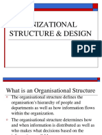 Organizational Structure Design