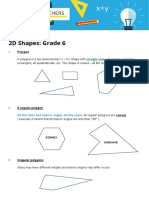 Basic Maths Grade6 2D Shapes