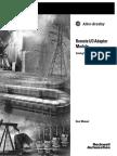 PLC 1747-ASB User Manual