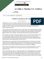 Catecismo Dos Anjos (em ingles)