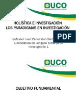Losparadigmasenlainvestigacin Holisticaeinvestigacion Vr.redes