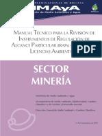 Manual Técnico IRAPS Sector Minería