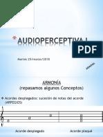 01 Audioperceptiva I UNC - Armonía - Radio - Juan - 27marzo2018
