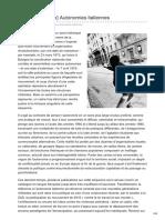 Revueperiode.net-Guide de Lecture Autonomies Italiennes