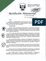 Tramiento Documentario en El Ministerio Del Interior