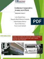 El Buen Gobierno Corporativo y Su Avance en El Perú