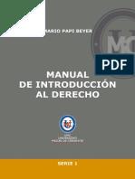 Introduccion al Derecho Mario Papi