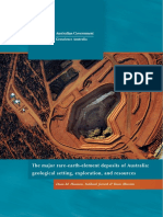 The Major Rare-earth-element Deposits of Australia