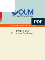 HMEF5043 Educational Psychology